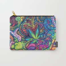 Colorful Weed TRIPPY Carry-All Pouch