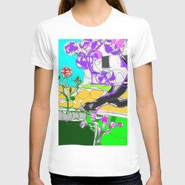 Jacaranda  time in Queensland, AUSTRALIA      by Kay Lipton T-shirt
