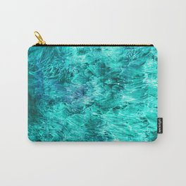 Turquoise Pool Carry-All Pouch