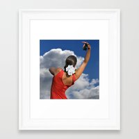 spanish Framed Art Prints featuring Spanish Rose by tarrby/Brian Tarr