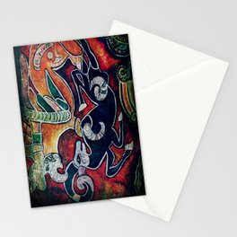 Scythian Designs Ibex & Griffin by Sheridon Rayment Stationery Cards
