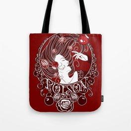 Poison - Blood Rose Tote Bag