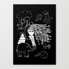 I'm Feeling Weird Canvas Print