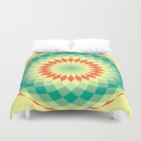 vector Duvet Covers featuring vector 4 by Ace of Spades