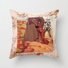 She Cried To The Southern Wind Throw Pillow