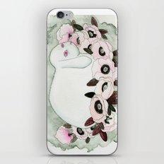 White Rabbit, Pink Poppies iPhone & iPod Skin
