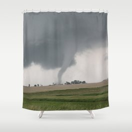 Field Tornado  Shower Curtain
