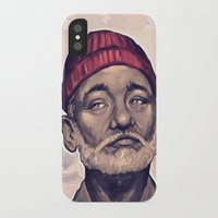 zissou iPhone & iPod Cases featuring Zissou by DC Bowers