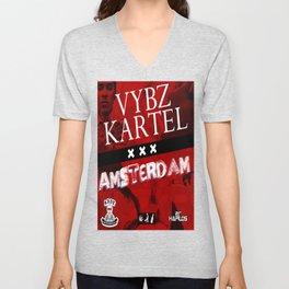Vybz Kartel - Amsterdam EP Unisex V-Neck
