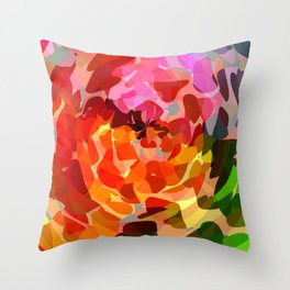 """bloom""  Throw Pillow"