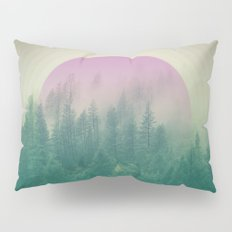 Orchid Vibes Forest Pillow Sham