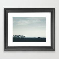 The Coast Framed Art Print