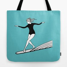 The Surfer Girl Tote Bag