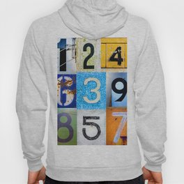 1,2,3,4,5,6,7,8,9 All The Numbers! Hoody