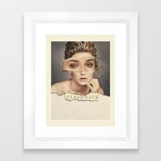 flashbacks & tears Framed Art Print