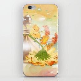 Duft der Blume - farbig iPhone Skin