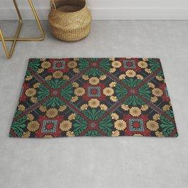 Decorative Indian Mandala Pattern Rug
