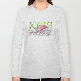 Giant Pacific Octopus Long Sleeve T-shirt