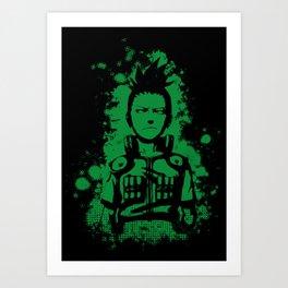 shikamaru grunge Art Print