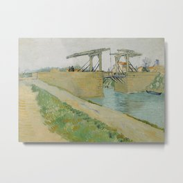The Langlois Bridge Metal Print