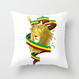 Reague Lion Throw Pillow