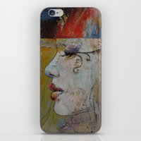 queen iPhone & iPod Skins featuring Queen by Michael Creese