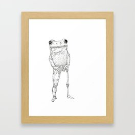 Froggyleg Framed Art Print