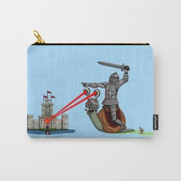 The Knight and the Snail - Random edition Carry-All Pouch