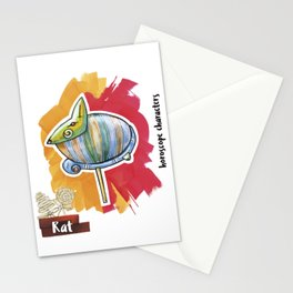 Rat Horoscope Stationery Cards