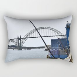 Bridge View  Rectangular Pillow