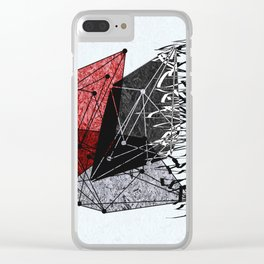 15_oasqqx Clear iPhone Case