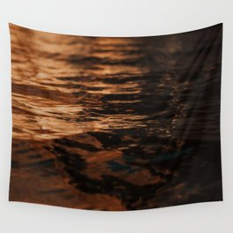 Lake Powell Copper Water Wall Tapestry