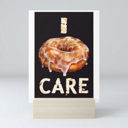 Glazed Donut Mini Art Print