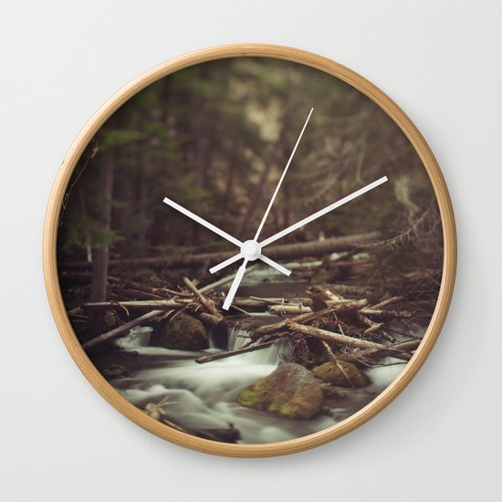 Cold Spring Creek Wall Clock