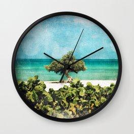 Divi Divi Tree of Life Wall Clock