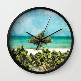 Divi Divi Tree of Life Wall Clock