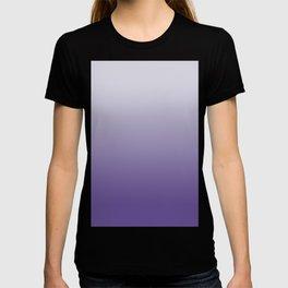 Ombre Ultra Violet Gradient Motif T-shirt