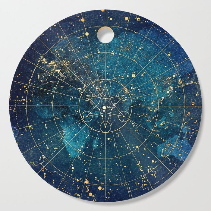 Star Map :: City Lights Cutting Board by jennylloyd | Society6