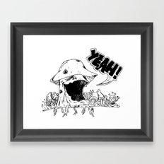 YeahMush Framed Art Print