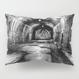 Monsal trail tunnel, Peak District, U.K. Pillow Sham