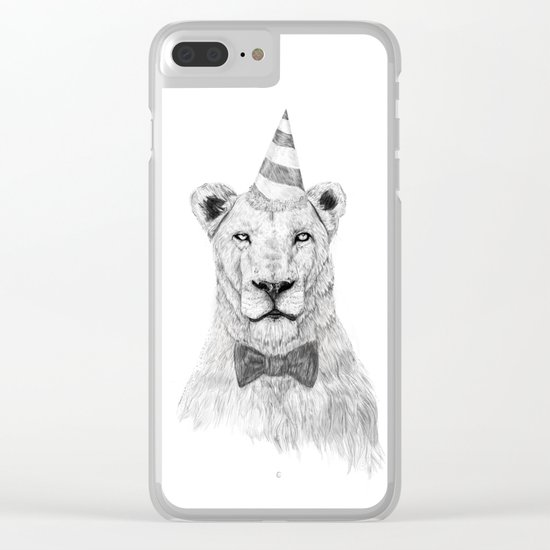 Get the party started Clear iPhone Case
