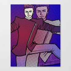 Spaceball Ricochet Canvas Print