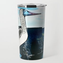 The Blue-footed booby Travel Mug
