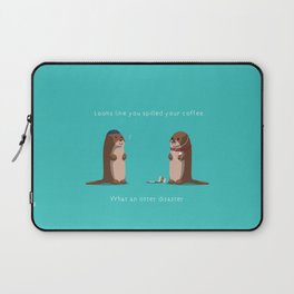 What an otter disaster Laptop Sleeve