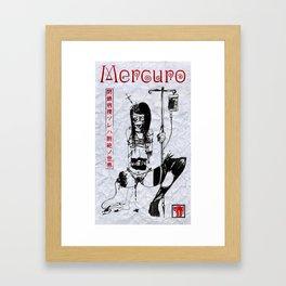 Mercuro 閉鎖病棟 Poster Framed Art Print