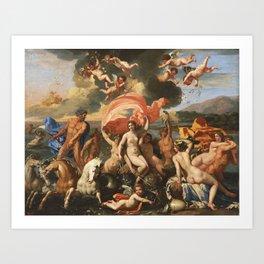 The Birth of Venus by Nicolas Poussin (1635) Kunstdrucke