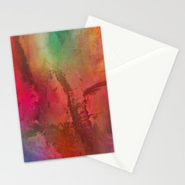 Multicolored abstract no. 15 Stationery Cards