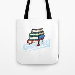 Get Lit Books Tote Bag