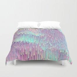 Iridescent Glitches Bettbezug