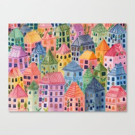 Summer City Canvas Print